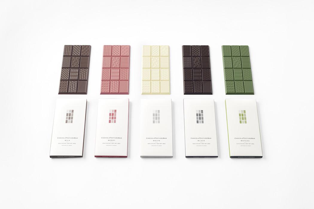 Chocolatexture par Nendo
