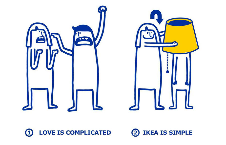 IKEA can Fix Love Problems