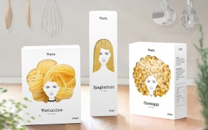 Packaging et têtes blondes par Nikita Konkin