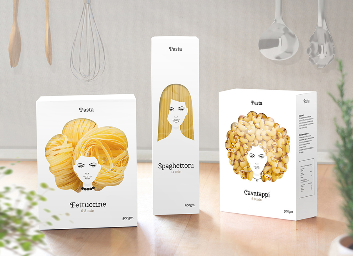 Nikita Konkin - Pasta Packaging