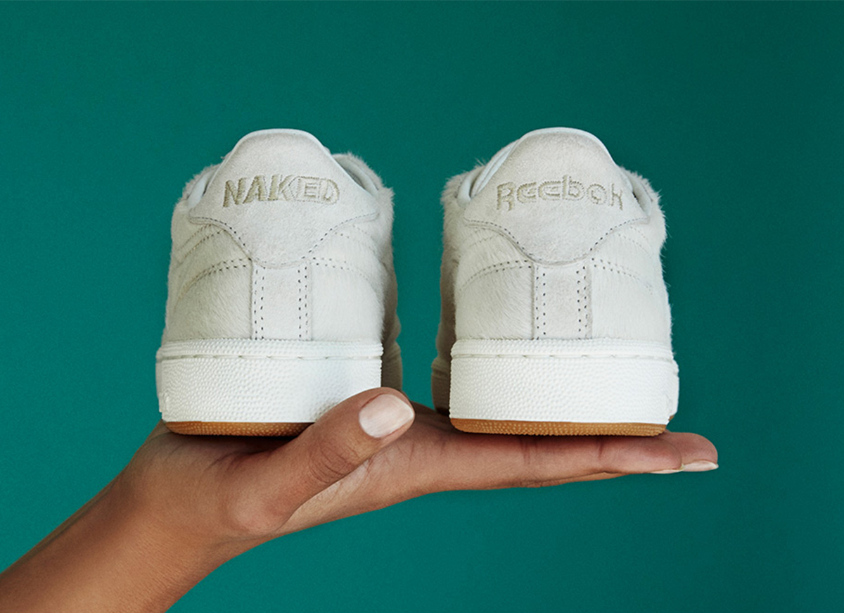 Naked x Reebok Club C Daze