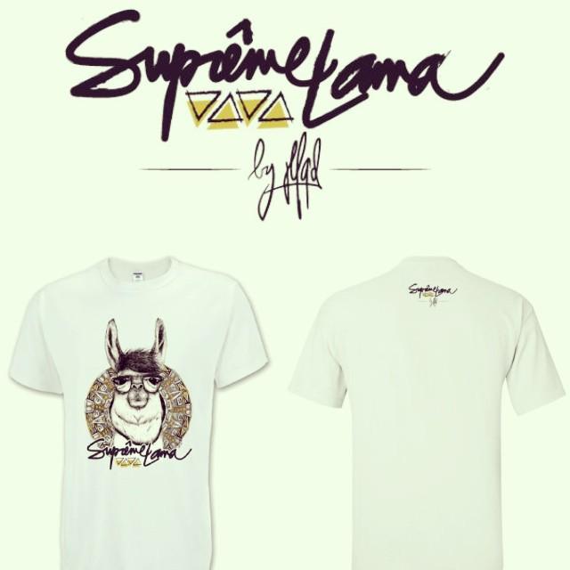 Tshirt Lama JLFQD