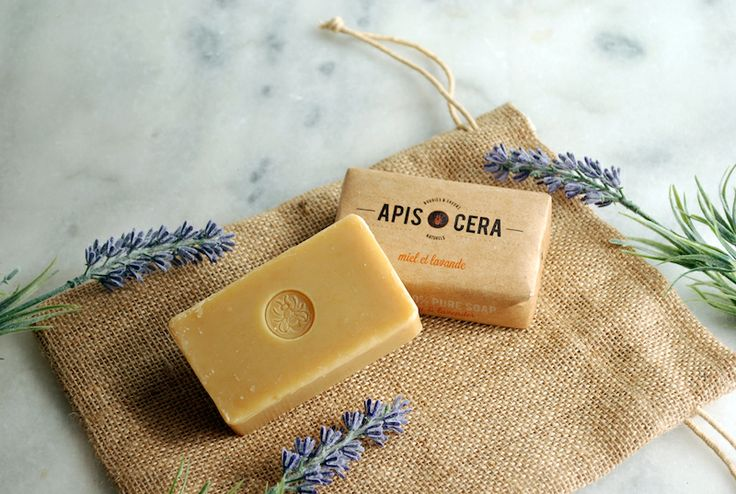 apis cera savon cire miel lavande abeille naturel bio