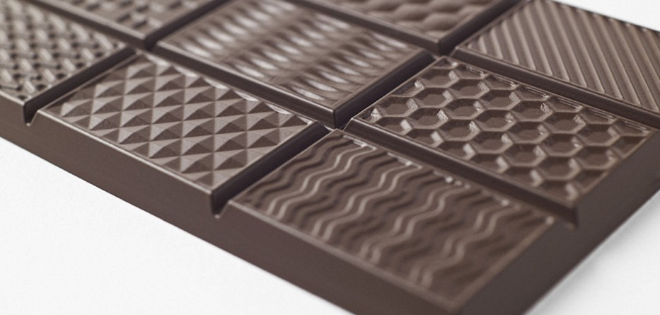 Chocolatexture par Nendo