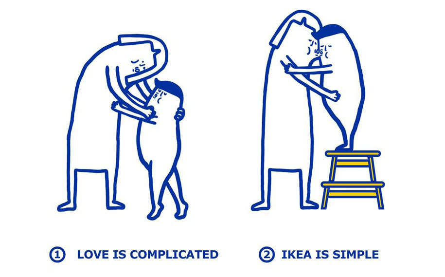 IKEA can Fix Love Problems
